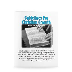 Guidelines to Christian Growth